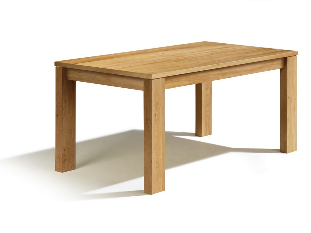 Ausziehbarer e tisch erle in 250cm x 80cm nach ma mit for Esstisch 100 x 80