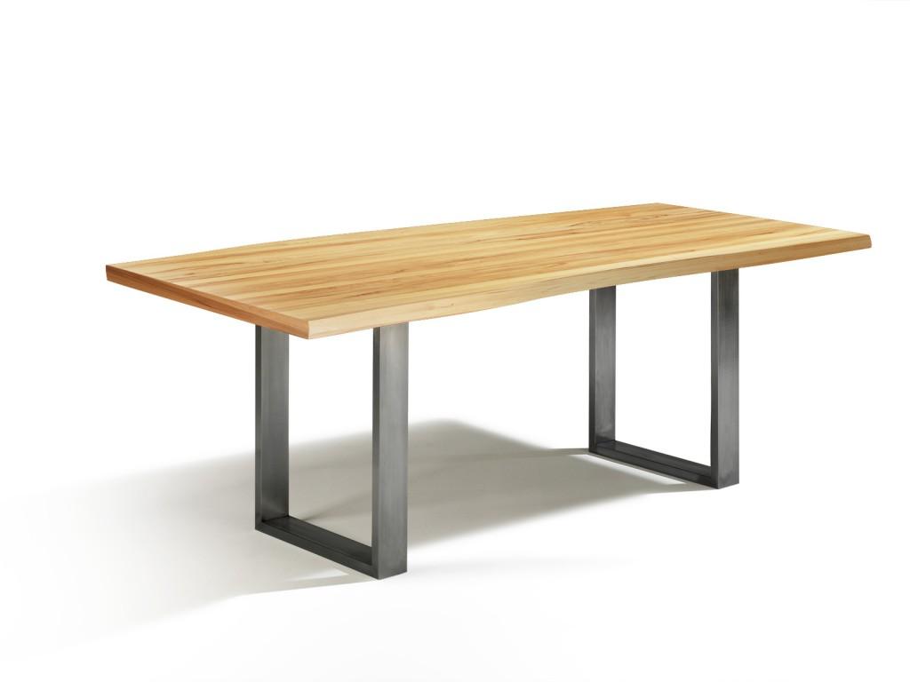 design esstisch kernbuche talca mit einer l nge von 210cm und breite von 100cm. Black Bedroom Furniture Sets. Home Design Ideas