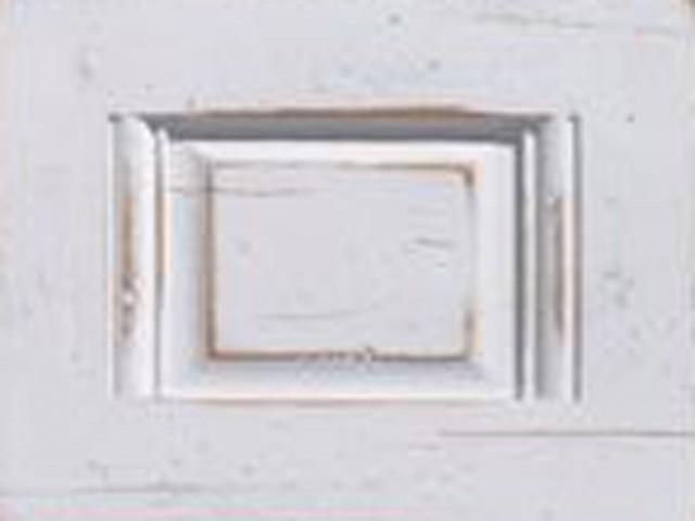 Holzmuster Talco weiß lackiert mit Antikeffekt