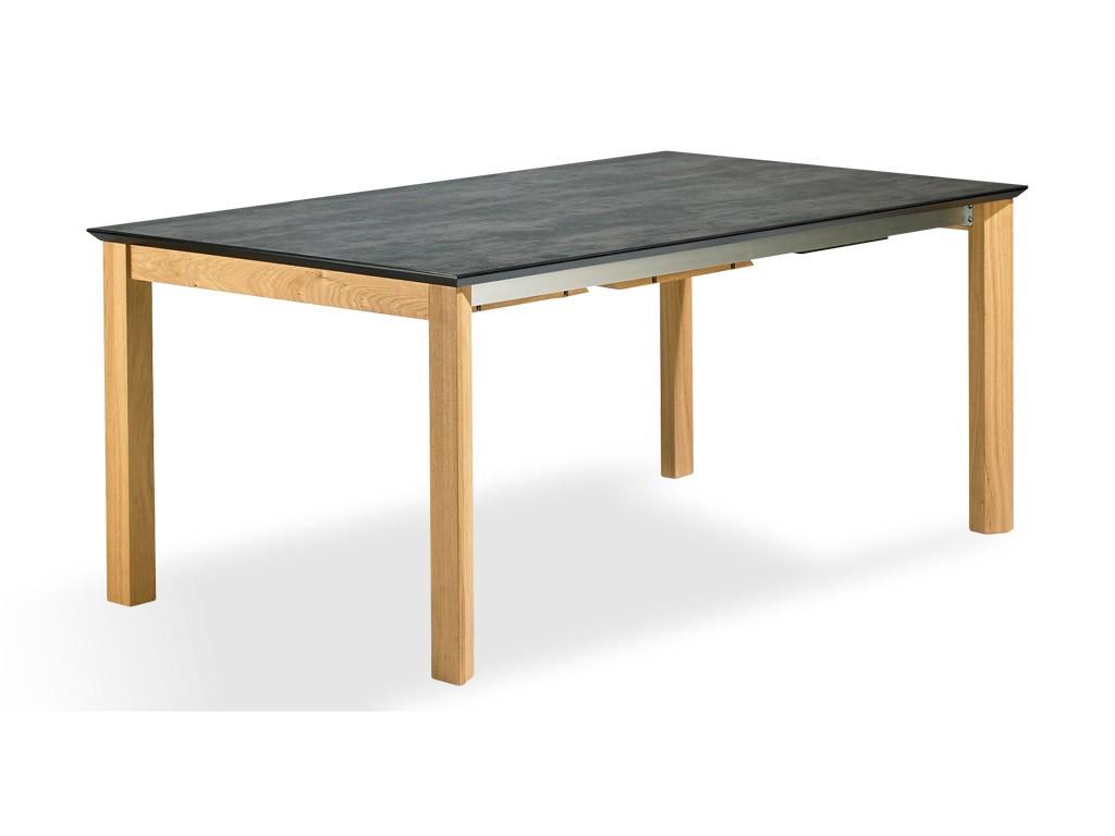 table de repas extensible ceidi avec plateau en c ramique. Black Bedroom Furniture Sets. Home Design Ideas