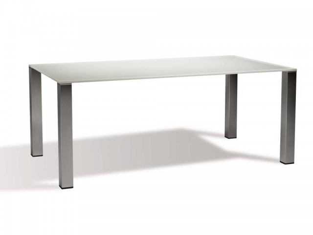 Table en verre Celiah