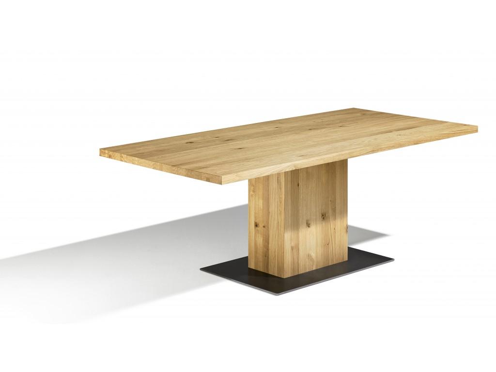 Esstisch mit Baumkante - maximale Natürlichkeit aus Holz - Esstische.de