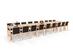gro e esstische f r bis zu 20 personen online bestellen. Black Bedroom Furniture Sets. Home Design Ideas