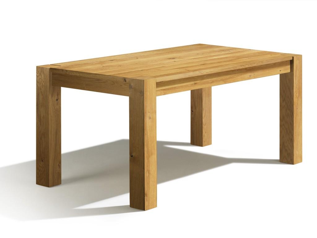 Esstisch eiche  Esstisch Eiche massiv - Esstische ausziehbar aus Massivholz ...