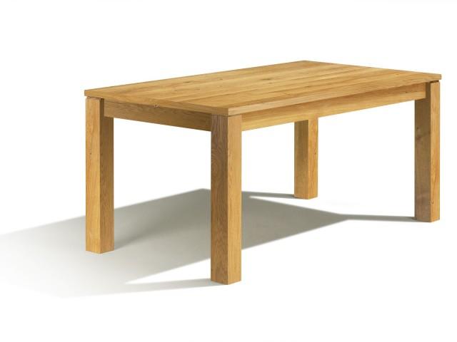 Calama, table à pieds carrés