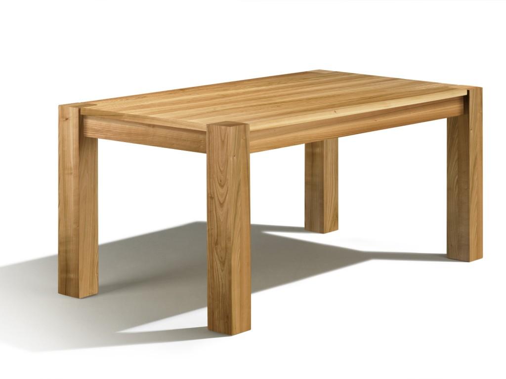esstisch ausziehbar in kirschbaum 140cm x 100cm kopfkulissenauszug von 50cm. Black Bedroom Furniture Sets. Home Design Ideas