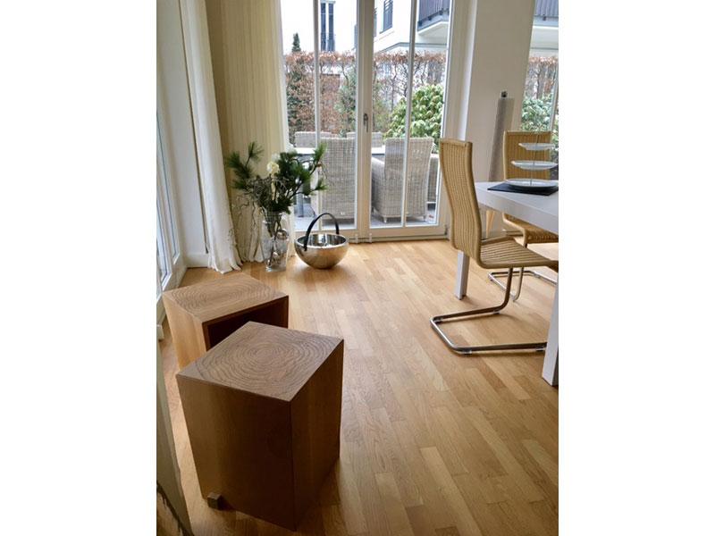 massivholzhocker alria. Black Bedroom Furniture Sets. Home Design Ideas