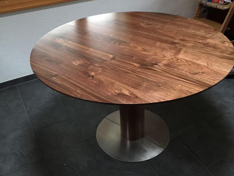 Ovaler Esstisch Holz ~ Esstisch oval usziehbar sala oval