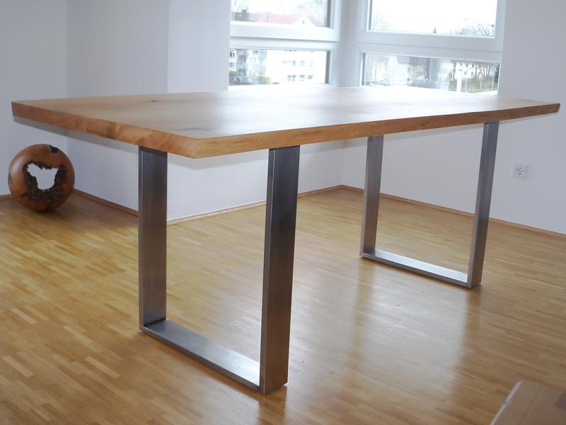 Esstisch mit metallgestell esstisch nalca in cremefarben for Esstisch mit marmorplatte