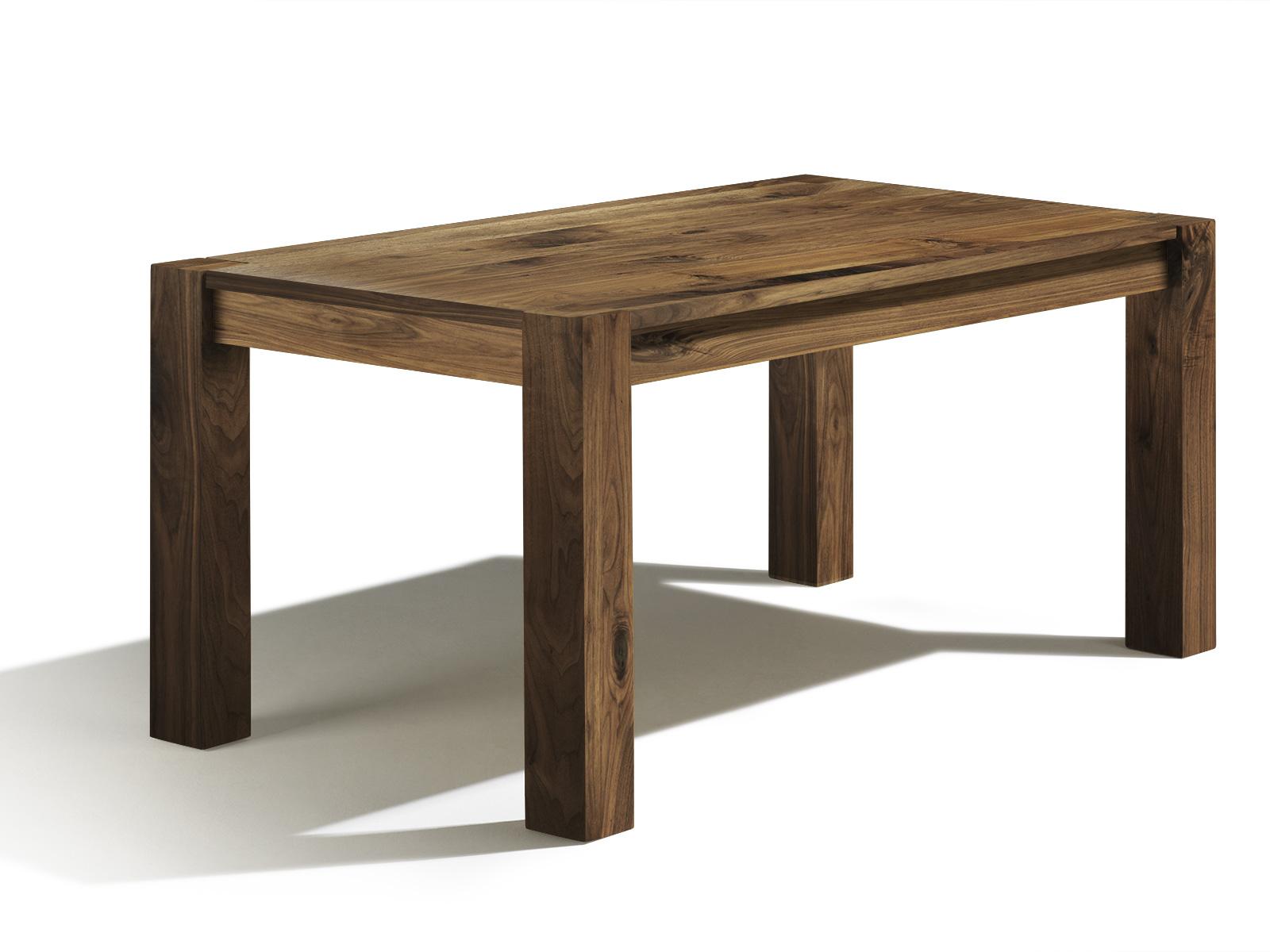 Holztisch massiv gnstig simple massivholz esstisch aus for Holztisch massiv design